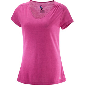 Salomon Ellipse Kortærmet T-shirt Damer pink